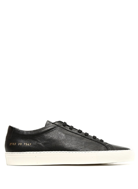 Common Projects Lifestyle Ayakkabı Siyah